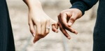 online divorce service - man and woman holding hands